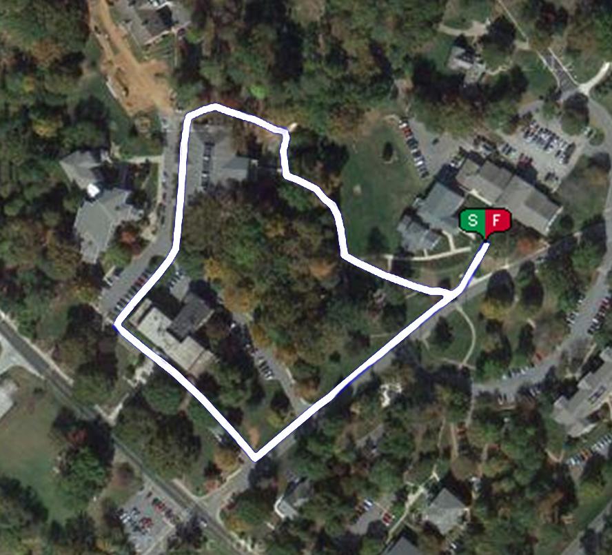 Half mile walking or jogging Trail