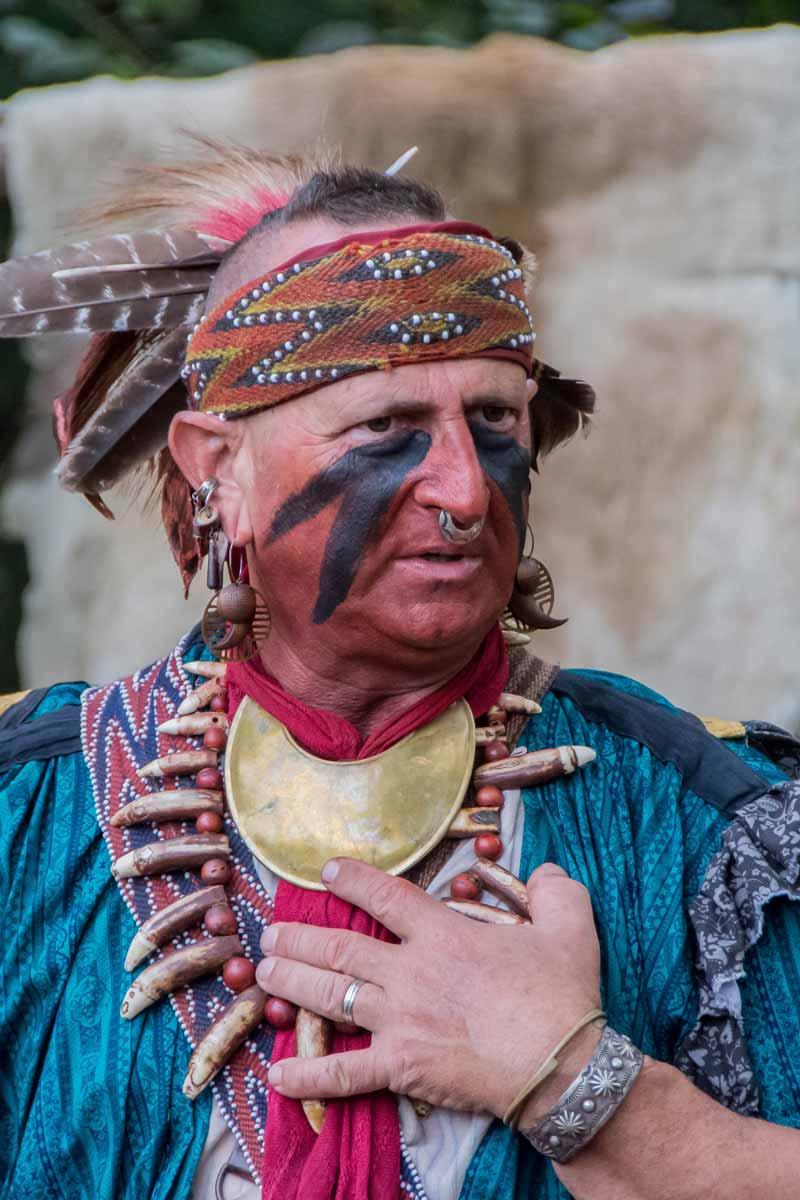 Native American Jim Sawgrass