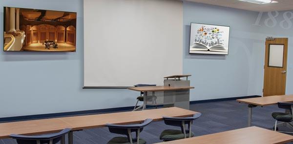 Renovated Classroom Rendering