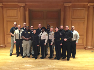 Fourteen officers/deputies graduated from the second class of Reinhardt University's Public Safety Institute Dec. 20.