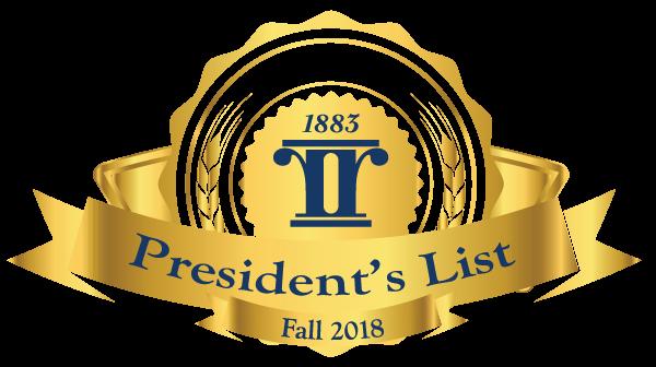 2018-Fall-Presidents-List-Logo