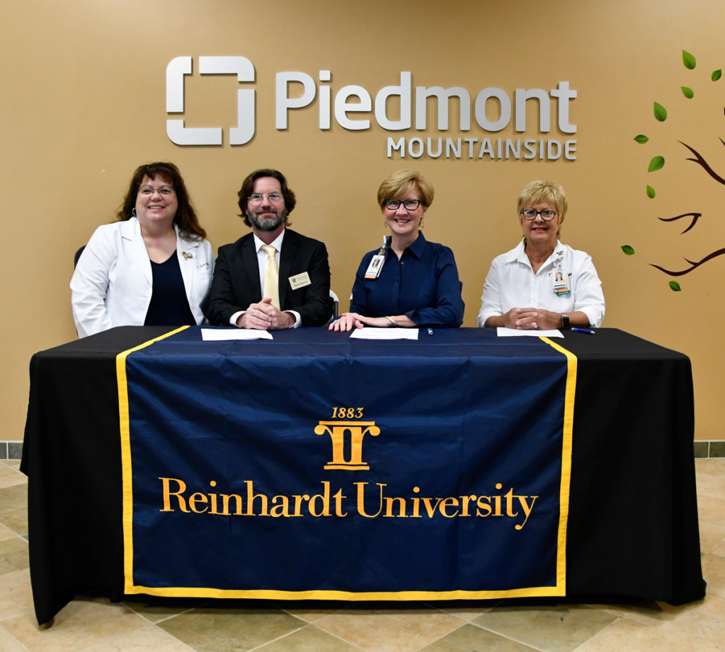 piedmont, reinhardt, educational pathway, bachelor of science in nursing, rn to bsn, nursing