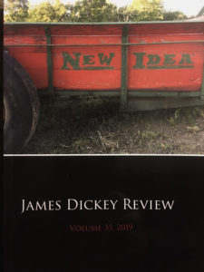 cover of the James Dickey Review, Vol. 35
